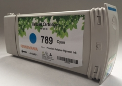 789 cyan compatible ink cartridges with chip for HP DesignJet L25500, L26500, L28500, L260, L280, fully compatible