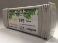 789 yellow compatible ink cartridges with chip for HP DesignJet L25500, L26500, L28500, L260, L280, fully compatible