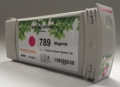 789 magenta compatible ink cartridges with chip for HP DesignJet L25500, L26500, L28500, L260, L280, fully compatible