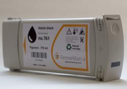 Replacement Cartridge for Hewlett Packard HP761 Matte Black 775 ml. CM997A