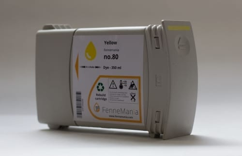 Alternatieve Yellow cartridge voor de HP Designjet 1050 &1055