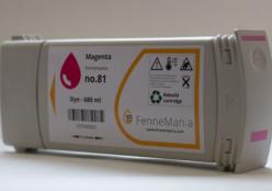 Alternatieve Magenta cartridge voor de HP Designjet 5000 & 5500