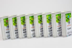 set HP70 cartridges