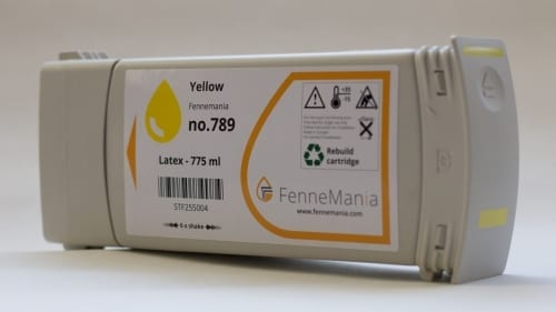 HP789 Yellow, CH618A.