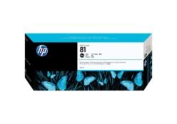 HP 81 (C4930A) inktcartridge zwart (origineel)