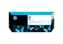 HP 81 (C4931A) inktcartridge cyaan (origineel)