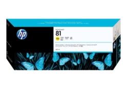 HP 81 (C4933A) inktcartridge geel (origineel)
