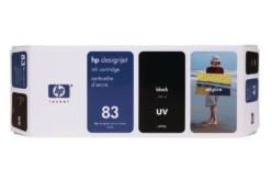 HP 83 (C4940A) UV inktcartridge zwart (origineel)
