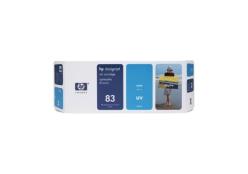 HP 83 (C4941A) UV inktcartridge cyaan (origineel)