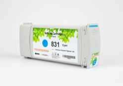 HP 831A 775-ml Cyan Latex Ink Cartridge(CZ683A)