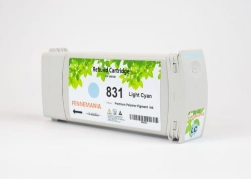 HP 831A 775-ml Light Cyan Latex Ink Cartridge(CZ686A)