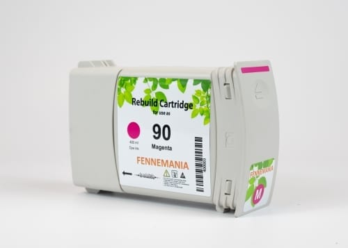 HP 90 400-ml Magenta DesignJet Ink Cartridge(C5063A)