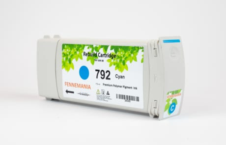 HP 792 775-ml Cyan Latex DesignJet Ink Cartridge(CH706A)