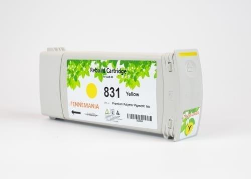 HP 831A 775-ml Yellow Latex Ink Cartridge(CZ685A)
