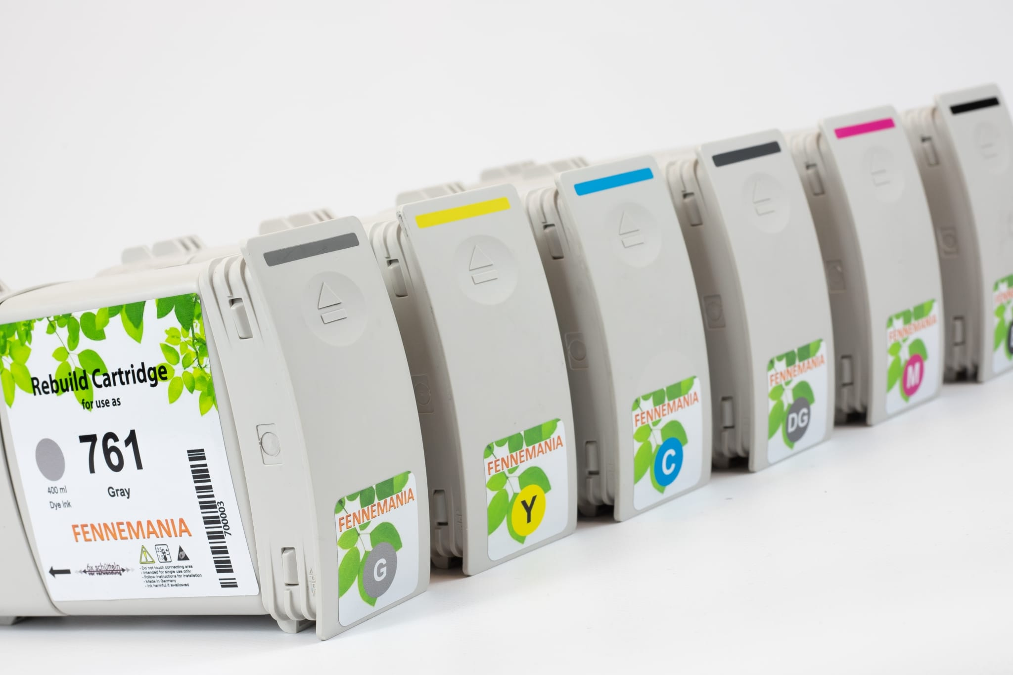 Set HP761 cartridges