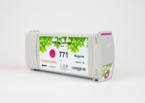 HP 771A 775-ml Magenta DesignJet Ink Cartridge(B6Y17A)