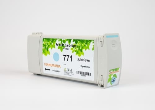 HP 771A 775-ml Light Cyan DesignJet Ink Cartridge(B6Y20A)