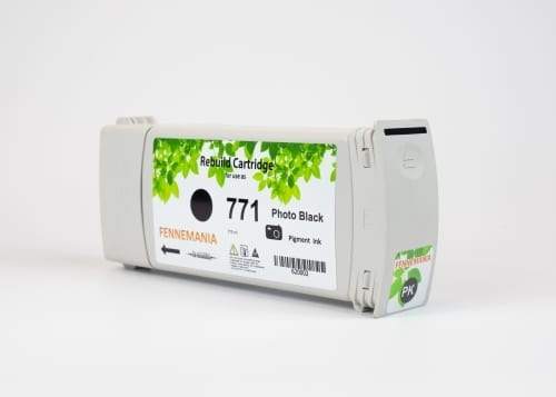 HP 771A 775-ml Photo Black DesignJet Ink Cartridge(B6Y21A)
