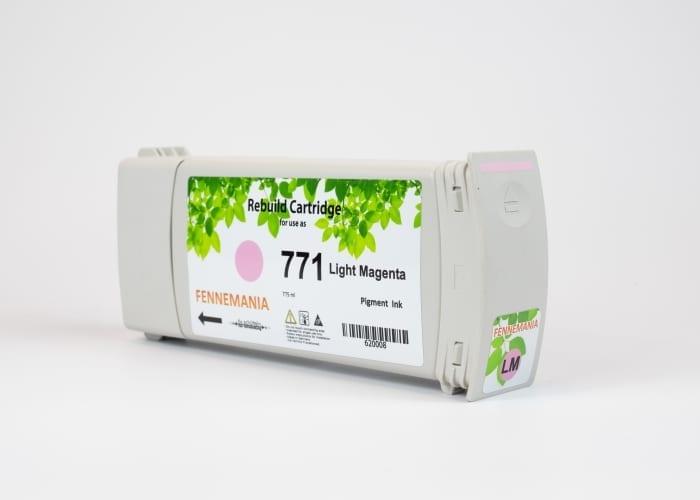 HP 771A 775-ml Light Magenta DesignJet Ink Cartridge(B6Y19A)
