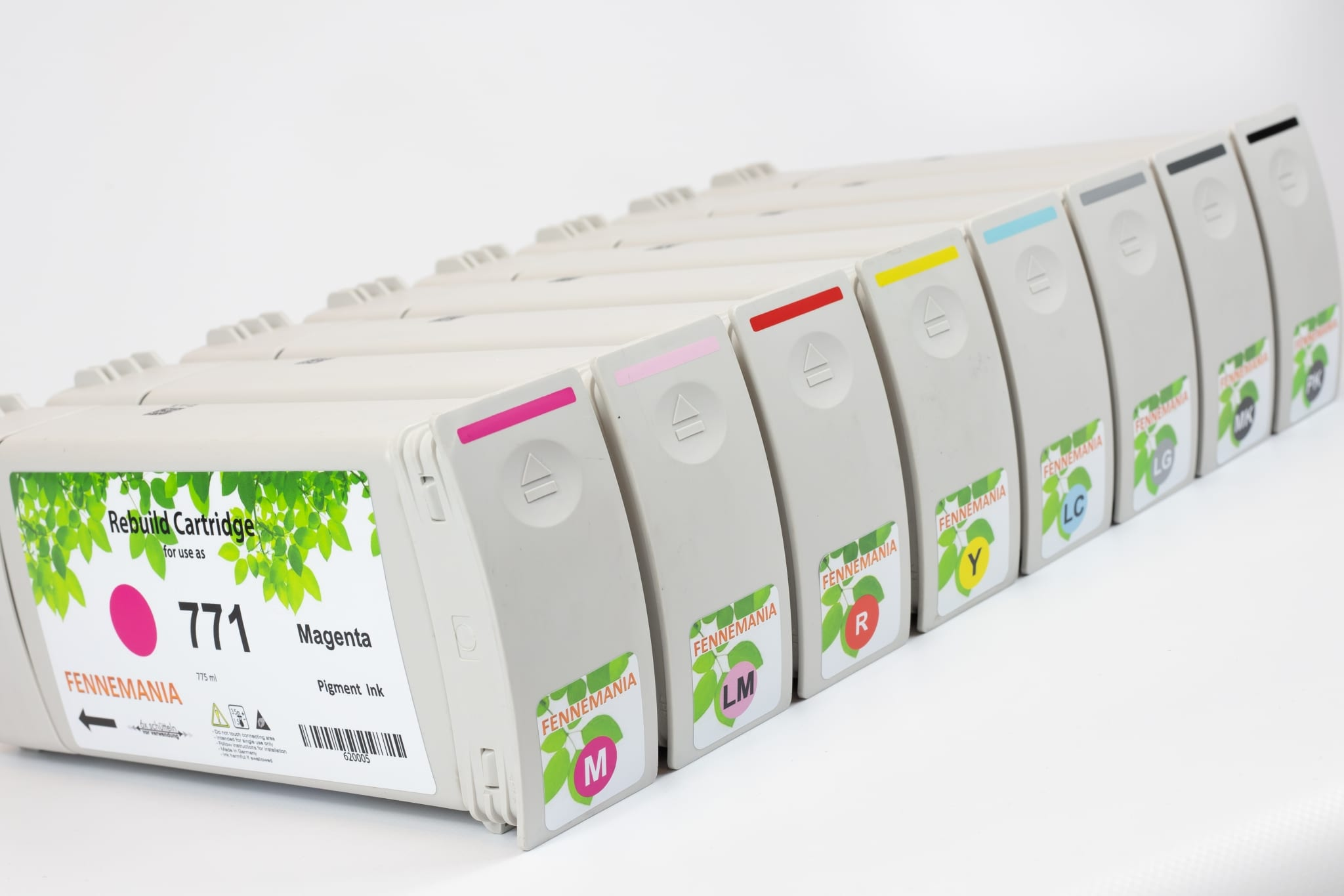 Set HP771 inkt cartridges