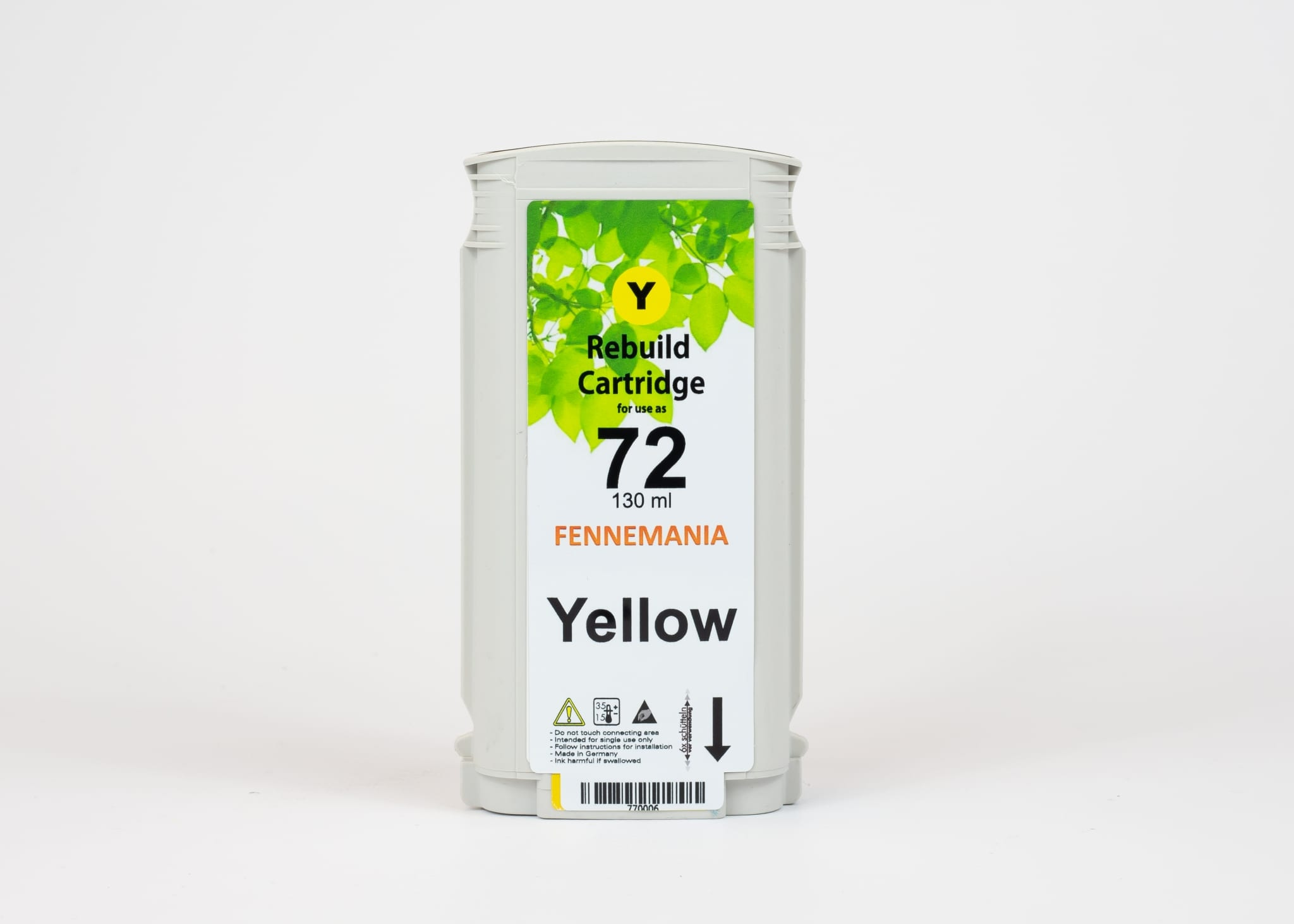 HP 72 Yellow, C9373A