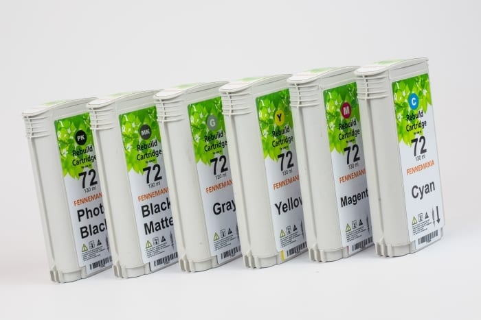 Set HP72 cartridges