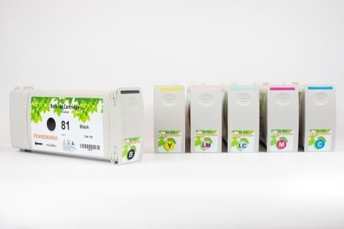 Set HP81 ink cartridges