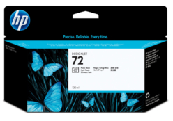 HP 72 originele UV inktcartridge foto zwart 130ml. (C9370A)