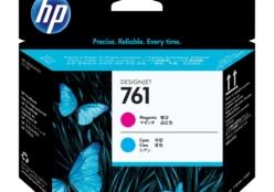 HP 761 printkop magenta en cyaan (CH646A)