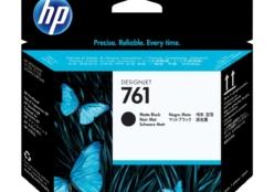 HP 761 originele printkop matzwart en matzwart CH648A