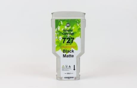 C1Q12A mat zwart 330 ml