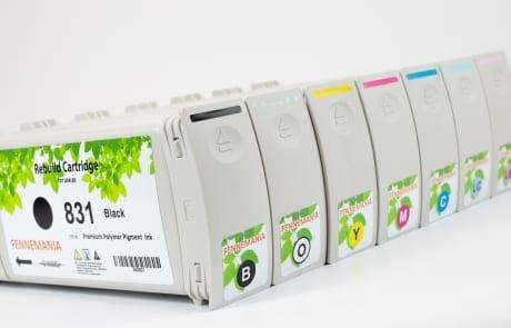 Set HP831 cartridges