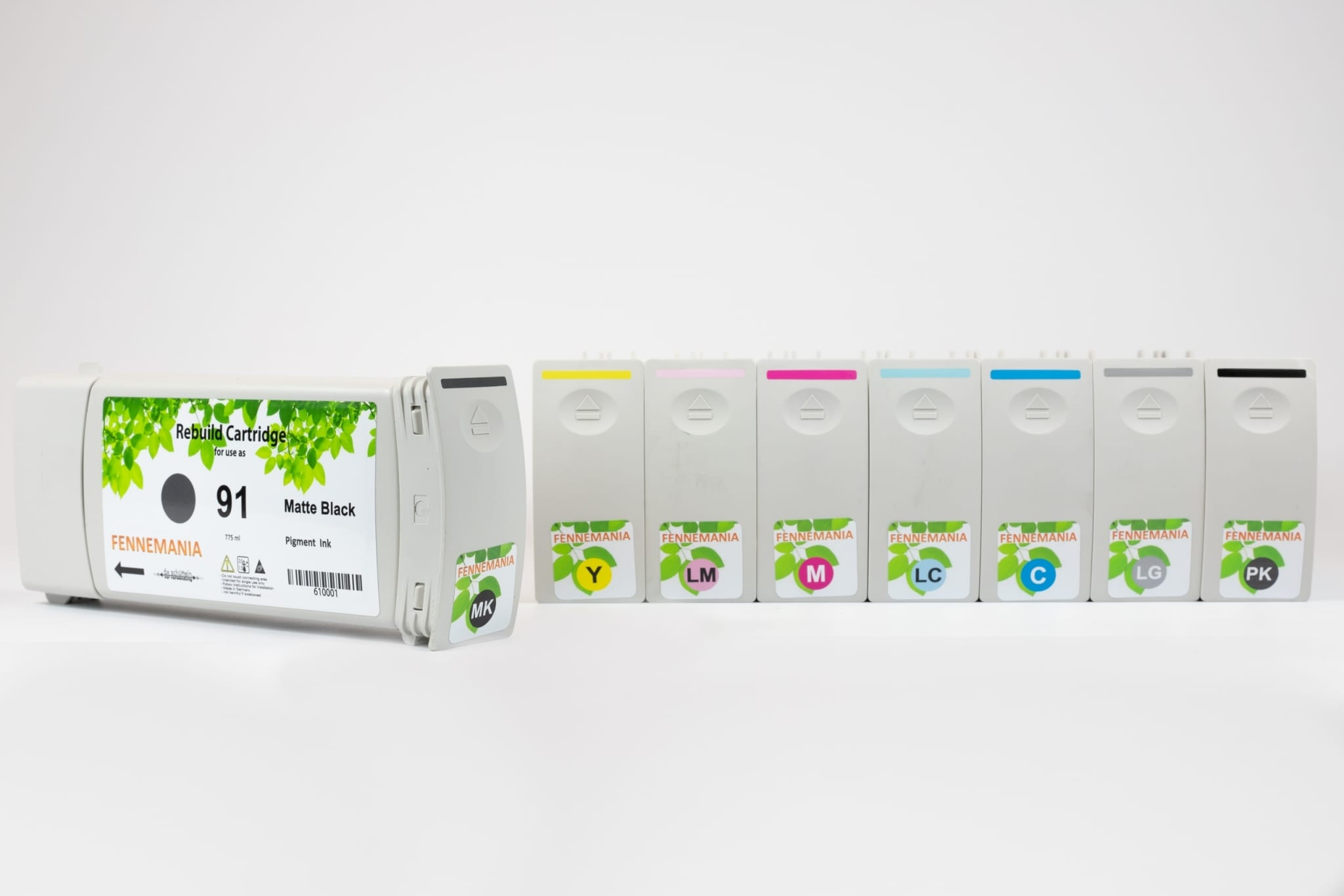 Set HP91 inkt cartridges