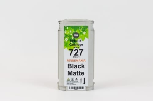 hp 727 matte black 130 ml.